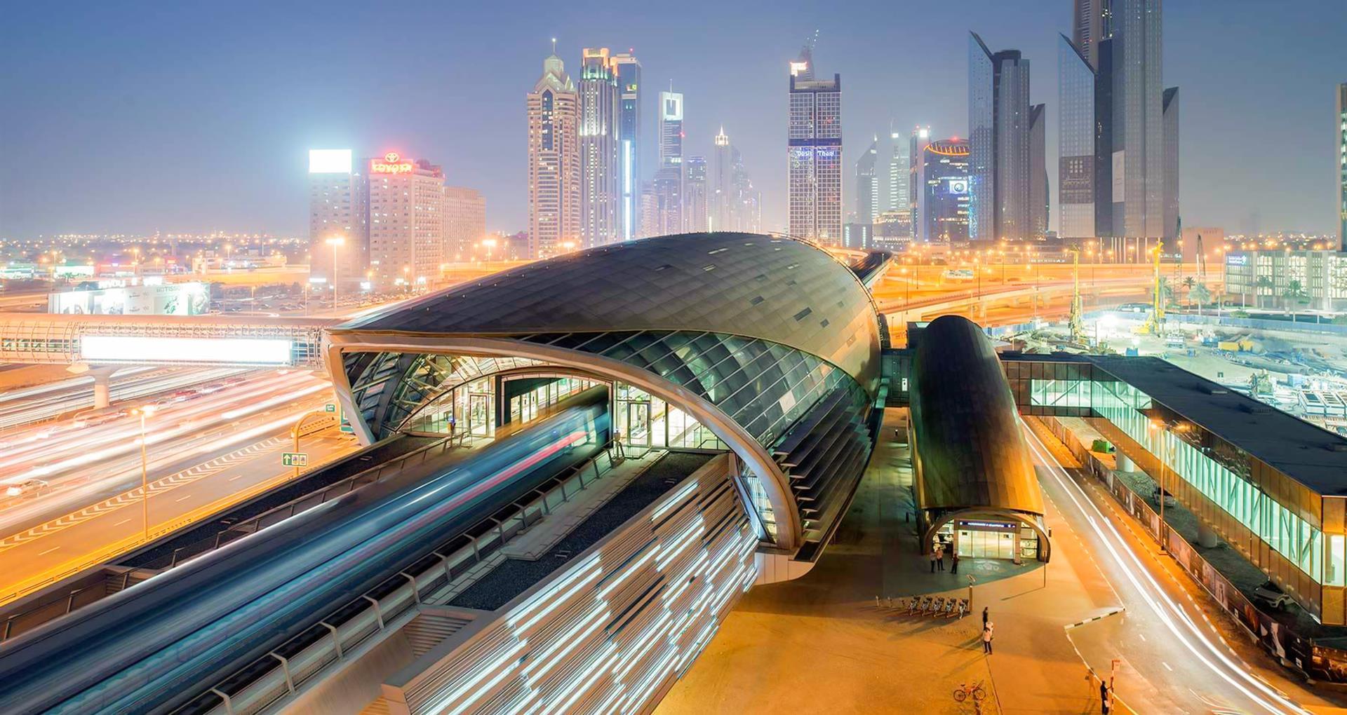 Sheikh Hamdan Achievements - Dubai Metro