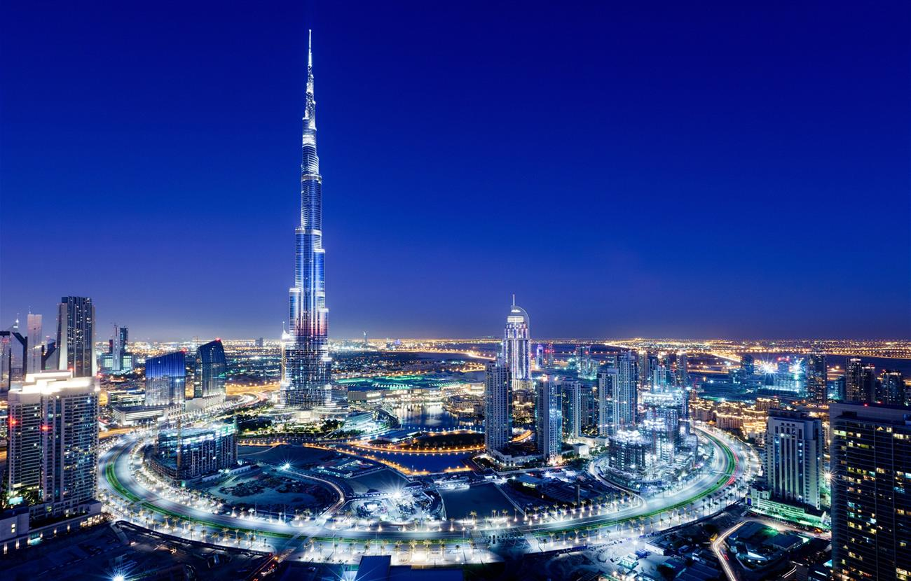 Sheikh Hamdan Achievements - Burj Khalifa