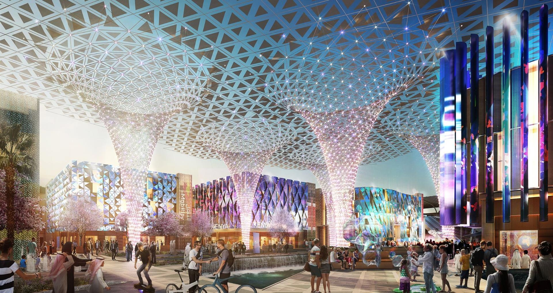 Sheikh Hamdan Achievements - World Expo 2020