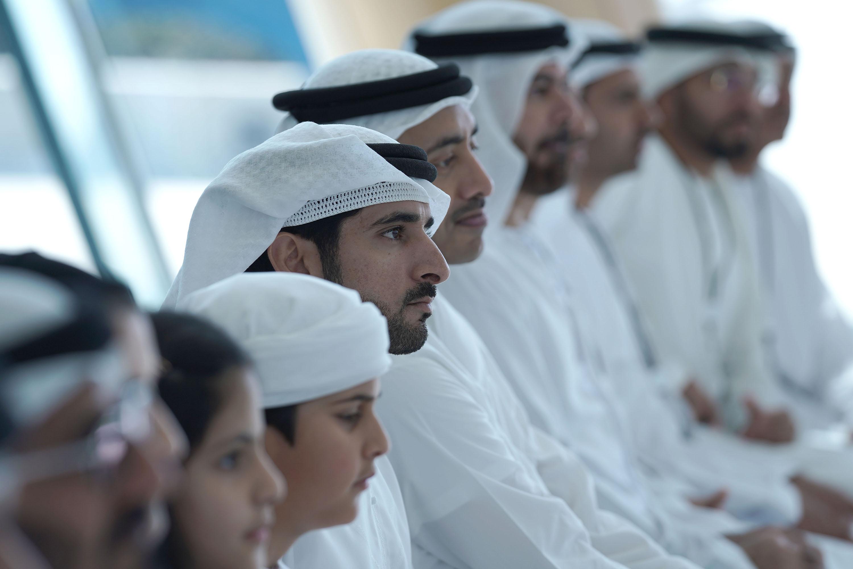 حمدان بن محمد يحضر افتتاح الحدث العلمي لمركز محمد بن راشد للفضاء