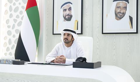 حمدان بن محمد يكرم جمعية دار البر وكوادرها