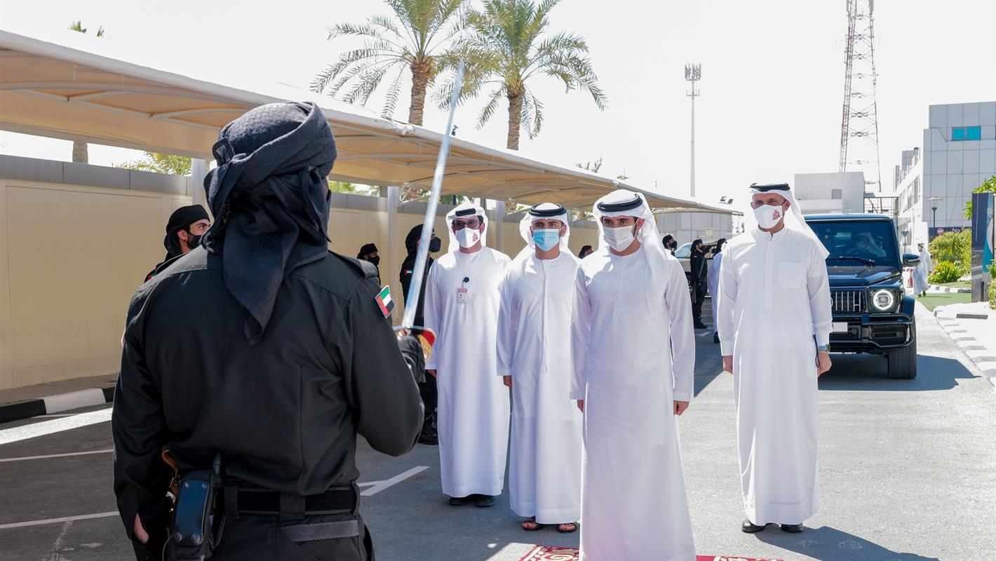 Crown Prince of Dubai inaugurates the Hamdan Smart Station for Simulation and Training
