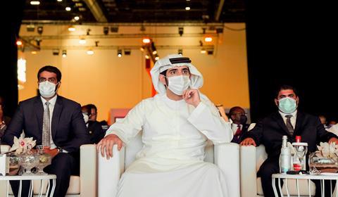 الشيخ حمدان مكتبة الوسائط - حمدان بن محمد يحضر المنتدى العالمي الأفريقي للأعمال