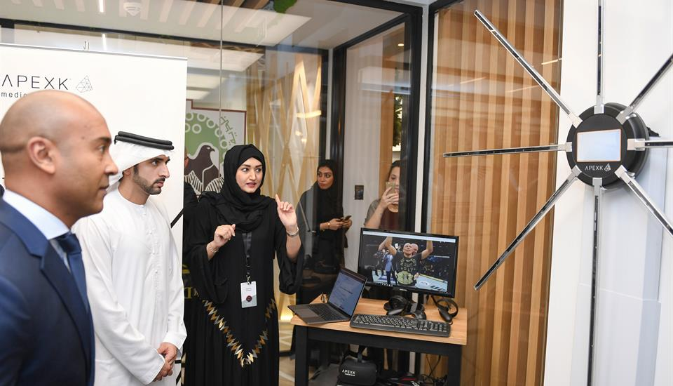 Hamdan bin Mohammed Attends Closing Ceremony of 3rd Dubai Future Accelerators Program