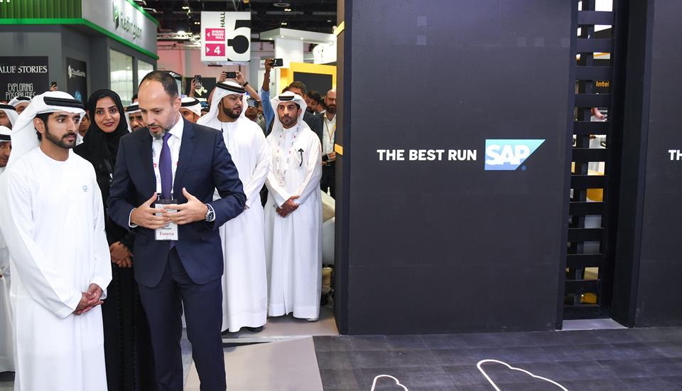Hamdan bin Mohammed officially opens GITEX 2018