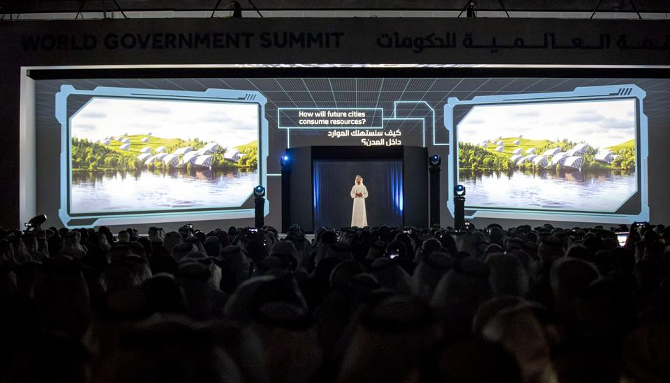In presence of Mohammed bin Rashid Hamdan bin Mohammed sets the seven shifts shaping future cities
