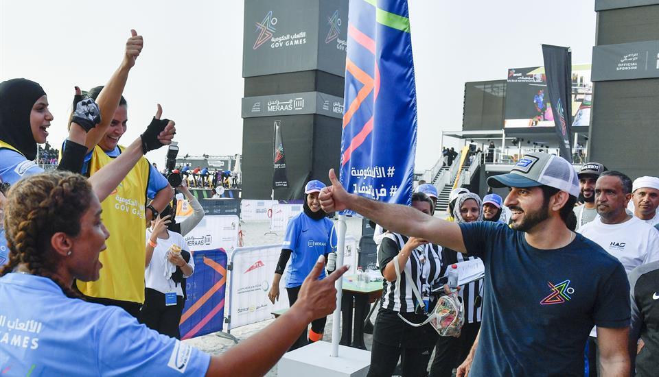 حمدان بن محمد يقود فريق F3 في النسخة الثانية من الألعاب الحكومية