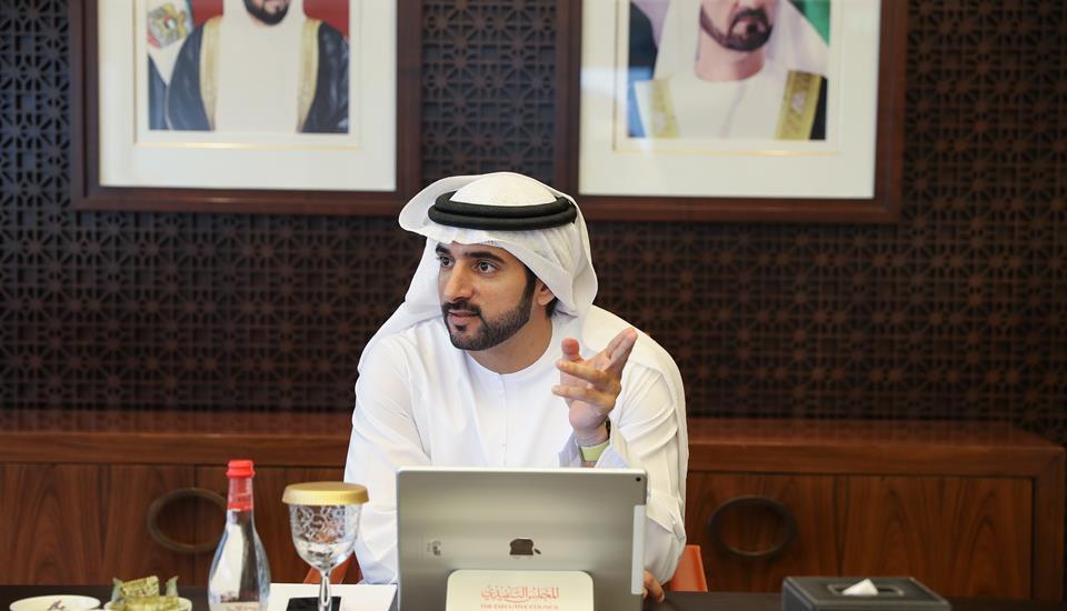 """برئاسة حمدان بن محمد .. """"تنفيذي دبي"""" يعتمد استراتيجية التجارة الالكترونية"""