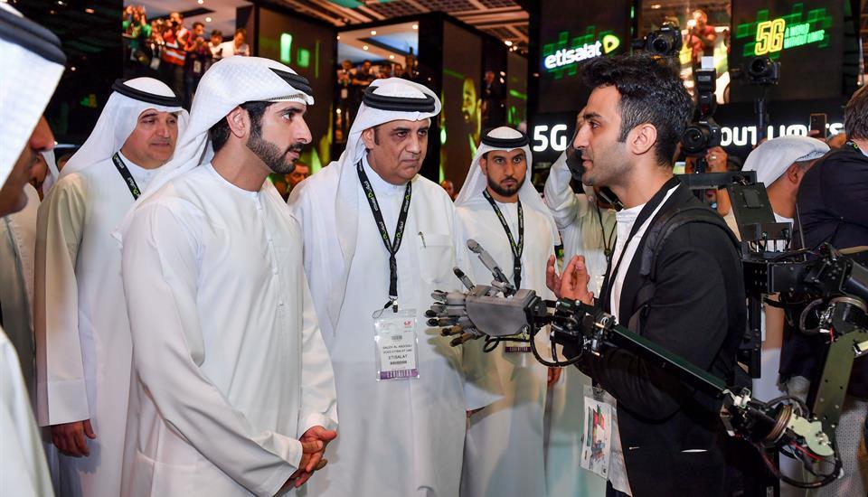 حمدان بن محمد يفتتح أسبوع جيتكس للتقنية بمشاركة 4500 شركة من 100 دولة