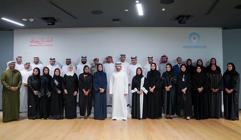 حمدان بن محمد يلتقي أعضاء شبكة الاتصال الحكومي بمناسبة مرور 10 سنوات على انشائها