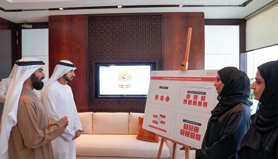 حمدان بن محمد يعتمد وثيقة مبادئ السلوك الوظيفي وأخلاقيات الوظيفة العامة في حكومة دبي