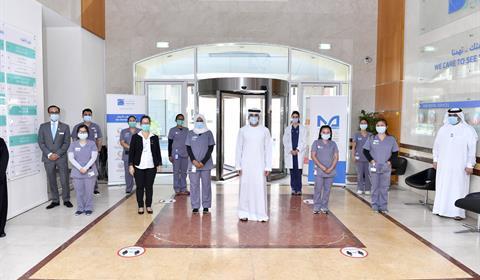 Hamdan bin Mohammed visits Mohammed Bin Rashid University of Medicine and Health Sciences