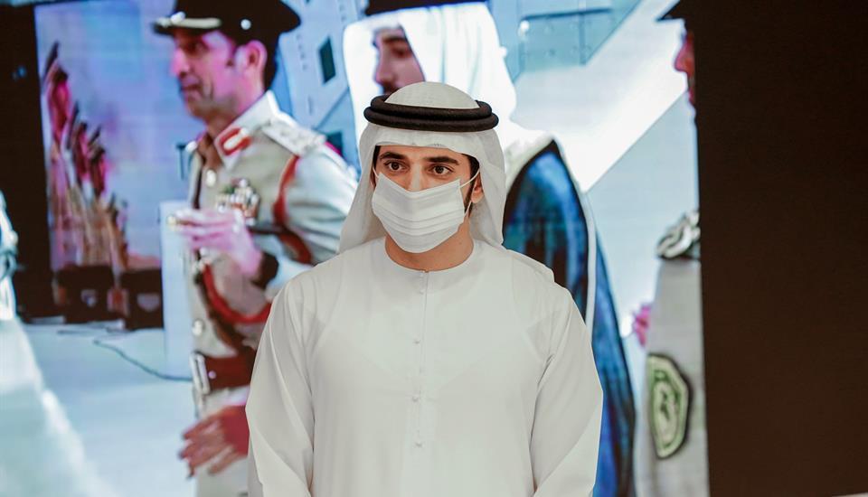 حمدان بن محمد يلتقي خريجات الدفعة الأولى من الطلبة المرشحين من العنصر النسائي في أكاديمية شرطة دبي
