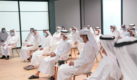 Hamdan bin Mohammed meets Director Generals and Executives of Dubai Government entities