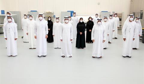 حمدان بن محمد يستعرض استراتيجية مركز محمد بن راشد للفضاء 2021-2031