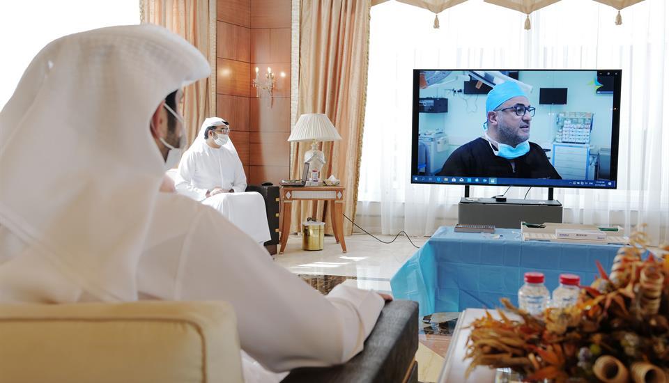 حمدان بن محمد: الكفاءات الطبية الوطنية تعزّز الثقة في الجاهزية العالية للمنظومة الصحية