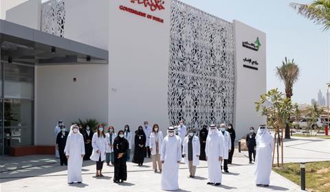 حمدان بن محمد يدشّن المقر الجديد لمركز دبي للإخصاب