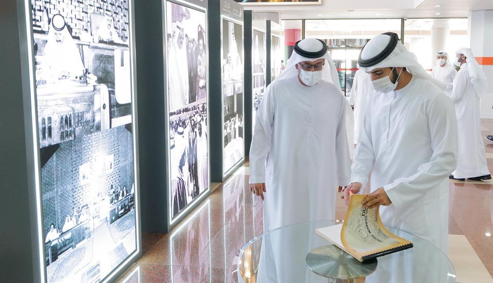 الشيخ حمدان الأخبار - برئاسة حمدان بن محمد - المجلس التنفيذي يعتمد تأسيس  مجلس تنمية الموارد البشرية الإماراتية