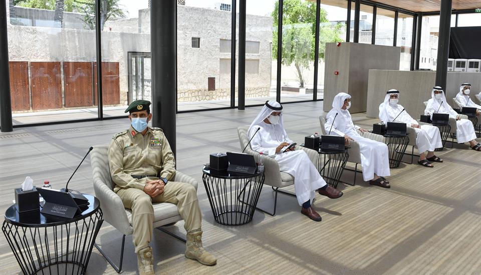 حمدان بن محمد يترأس اجتماع المجلس التنفيذي ويعتمد انشاء منطقة متخصصة للطباعة ثلاثية الأبعاد في منطقة إكسبو