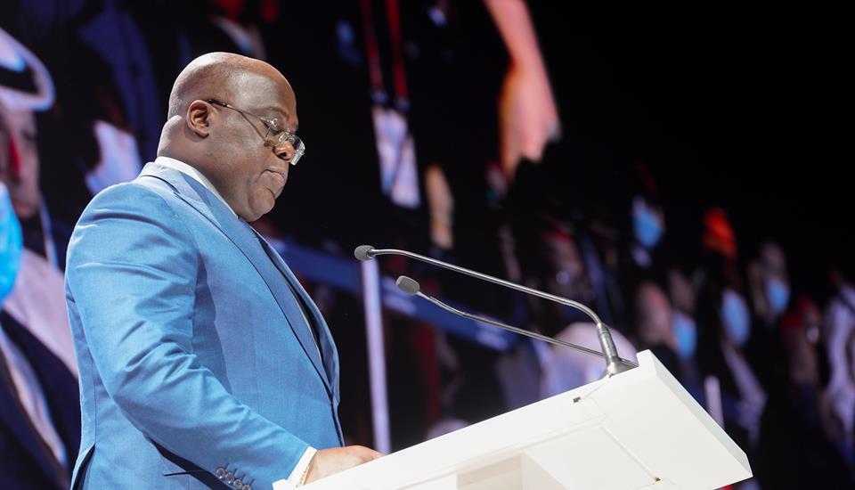 حمدان بن محمد يحضر المنتدى العالمي الأفريقي للأعمال
